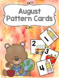 Pattern Calendar Cards (August)