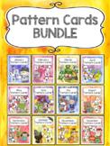 Back to School Pattern Calendar Cards BUNDLE
