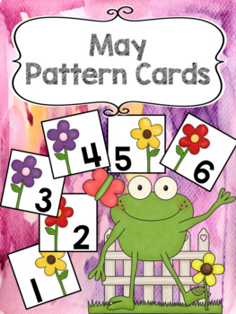Pattern Calendar Cards (May)