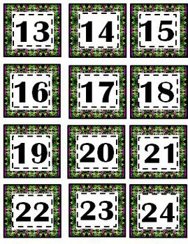 Pattern Calendar / Clock Pack