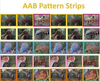 Pattern Cards - Dinosaurs
