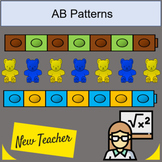 Pattern Cards Math AB patterns