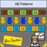 Pattern Cards Math AB patterns