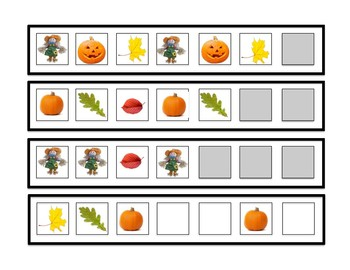 Pattern Cards- fall themed