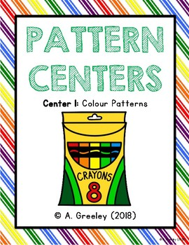 Pattern Center 1 - Colour Patterns with Letter Names