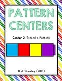 Pattern Center 2 - Extending Patterns