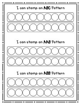 Pattern Center 4 - Stamp a Pattern