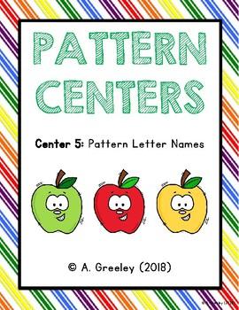 Pattern Center 5 - Pattern Letter Names