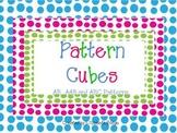 Pattern Cubes Math Game
