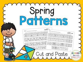 Pattern Worksheets (Cut and Paste)