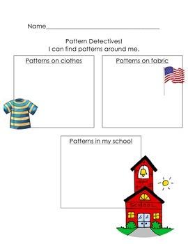 Pattern Detectives