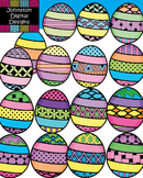 Pattern Easter Eggs