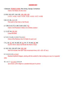 Math Patterns Enrichment