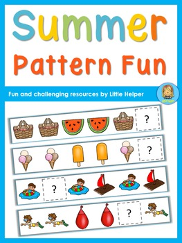 Cut and Paste Summer Pattern Fun