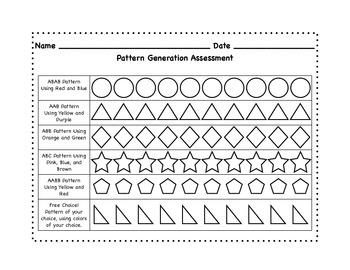 Pattern Generation Assessment