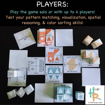 Pattern Genius: Pattern Matching Cube Game, LEVEL 2 for PreK-K
