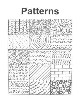 Pattern Handout for Art Education!