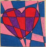 Pattern Heart - Valentines Day Art