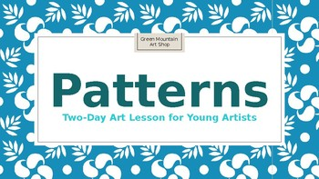 Pattern Lesson for Young Artists