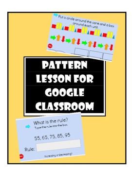 Pattern Lessons for Google Classroom