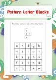 Pattern Letter Blocks