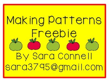 Pattern Making *Freebie*