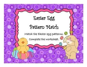 Pattern Match - Easter Egg Theme