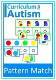 Basic Concepts Pattern Matching Colors Nouns Autism Special Education