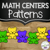 Pattern Math Center Activities