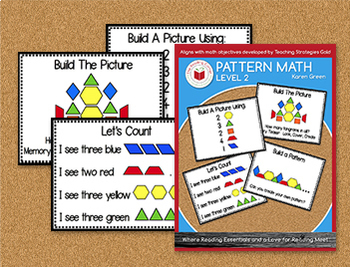 Pattern Math - Level 2 - Digital Download