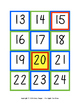 Number Cards - Patterned - 1-120