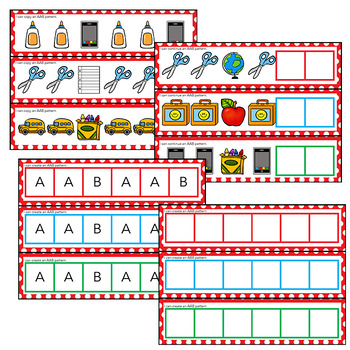 Pattern Pack | Kindergarten Math Centers