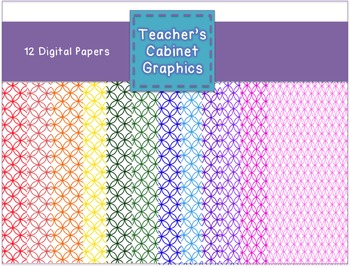 Pattern Papers 2 {Teacher's Cabinet Graphics}