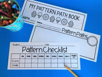 Pattern Paths {See & Make Math Activities}