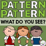 Math Pattern activity and lesson