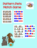 Pattern Pets Match Game