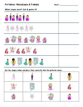 Pattern Practice: Princesses & Fairies