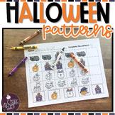 Halloween Math Patterns