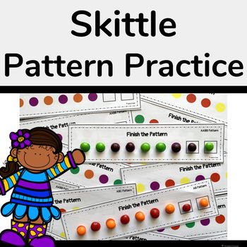 Pattern Practice with Skittles or Pom-Poms