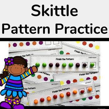 Skittle Pattern Practice