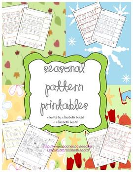 Pattern Printables: Seasonal Themed