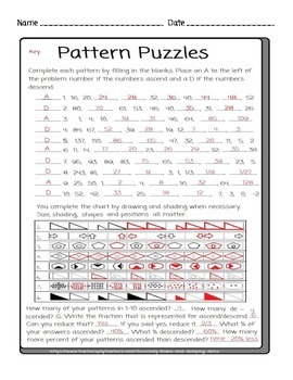Pattern Puzzles