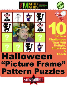 Pattern Puzzles: Halloween Themed