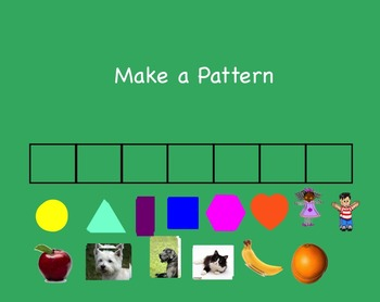 Pattern SmartBoard Center