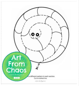Pattern Snake Worksheet