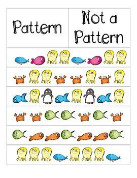 Pattern Sort FREEBIE