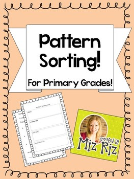 Pattern Sorting Mat for Primary Pattern Units!