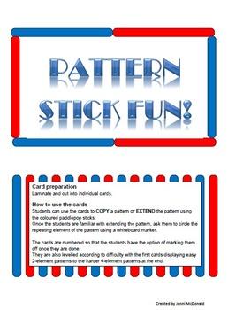Pattern Stick Fun