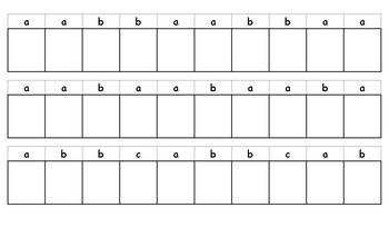 Pattern Strips