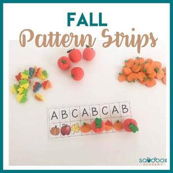 Pattern Strips - Fall Preschool Activity